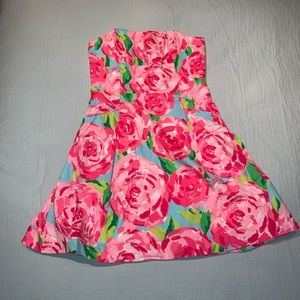 Lilly Pulitzer Pink First Impression Dress